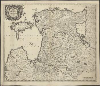 Tabula ducatuum Livoniae et Curlandiae