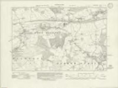 Somerset V.SE - OS Six-Inch Map