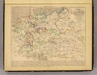 Autriche, Prusse, Confed. Germanique, Pologne 1788 a 1841.