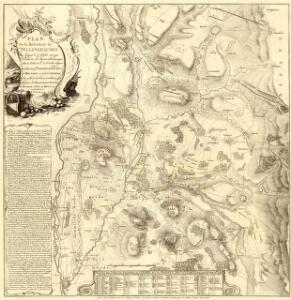 Plan de la Bataille de Vellingshausen