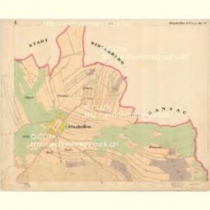 Glashütten - c6933-1-001 - Kaiserpflichtexemplar der Landkarten des stabilen Katasters
