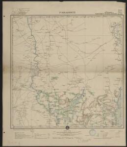 Afrique occidentale française-carte régulière. Parahoué
