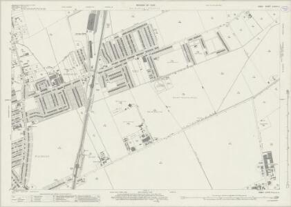 Essex (New Series 1913-) n LXXVIII.4 (includes: Chigwell; Ilford) - 25 Inch Map