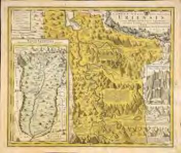 Canton Uri sive pagus Helvetiae Uriensis cum subditis suis in Valle Lepontina