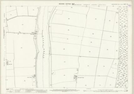 Lincolnshire X.6 (includes: Amcotts; Burton upon Stather; Flixborough; Garthorpe) - 25 Inch Map