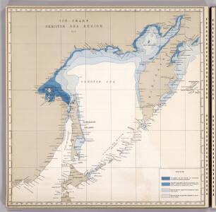 Ice Chart, Okhotsk Sea Region, May.