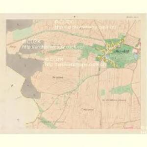 Skotschitz (Skočice) - c6937-1-004 - Kaiserpflichtexemplar der Landkarten des stabilen Katasters
