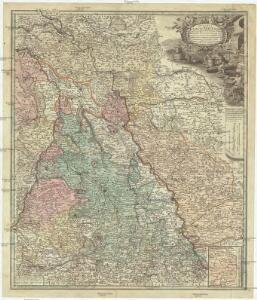 Ducatus Iuliaci & Bergensis tabula geographica, simul ducatum Clivie & Meursiae principatum