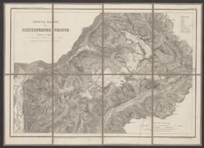 Special-Karte der Rieserferner Gruppe