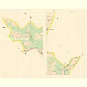 Klein Lhotta (Mala Lhotta) - m1686-1-003 - Kaiserpflichtexemplar der Landkarten des stabilen Katasters