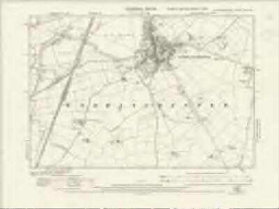 Huntingdonshire XXII.NW - OS Six-Inch Map