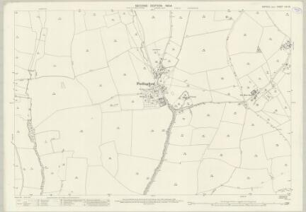 Suffolk LXII.15 (includes: Cavendish; Clare; Hundon; Poslingford) - 25 Inch Map
