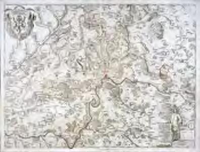 Schaffhauser Gebiet samt den Grenzen und umligenden Orten