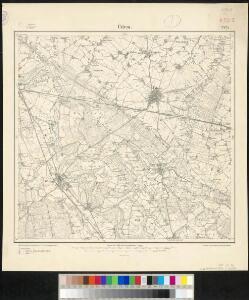 Meßtischblatt 2425 : Üdem, 1907