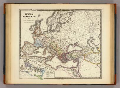 Imperium Romanorum inde a Constantini Magni tempore.