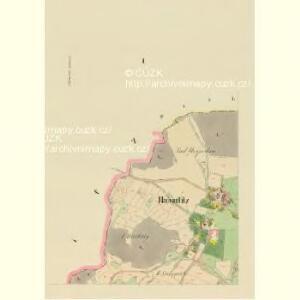 Habartitz (Habartic) - c1731-1-001 - Kaiserpflichtexemplar der Landkarten des stabilen Katasters