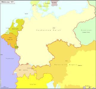 Mitteleuropa 1914