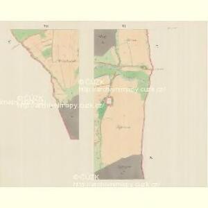 Branek (Branky) - m0204-1-005 - Kaiserpflichtexemplar der Landkarten des stabilen Katasters
