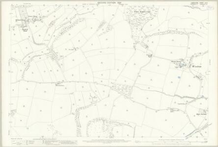 Hampshire and Isle of Wight LX.3 (includes: Buriton; Langrish; Petersfield) - 25 Inch Map