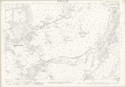 Yorkshire CC.7 (includes: Bingley; Keighley) - 25 Inch Map
