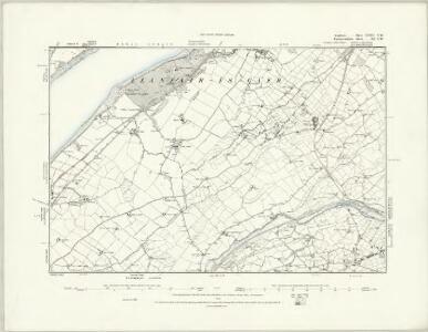 Anglesey XXII.NE - OS Six-Inch Map