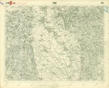 III. vojenské mapování 4761