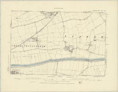 Lincolnshire LXXI.SE - OS Six-Inch Map