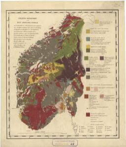 Geologiske kart 49: Geologisk oversigtskart over Det sydlige Norge