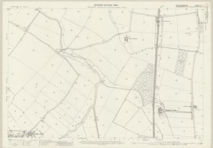 Nottinghamshire XL.7 (includes: Cotham; Elston; Flawborough; Long Bennington; Shelton; Sibthorpe; Staunton) - 25 Inch Map