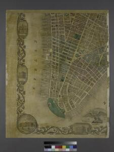 Map of the city of New-York extending northward to Fiftieth St. / surveyed and drawn by John F. Harrison, C.E.