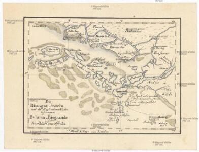 Die Bissagos Inseln und die englischen Niederlassungen Bulama u. Riogrande auf der Westküste von Afrika