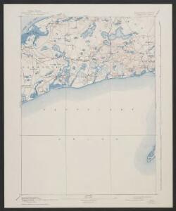 Yarmouth quadrangle, Massachusetts
