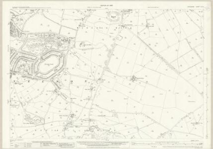 Lancashire LVI.8 (includes: Nelson) - 25 Inch Map