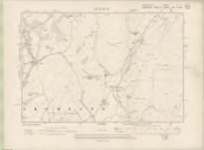 Peebles-shire Sheet XI.NE - OS 6 Inch map