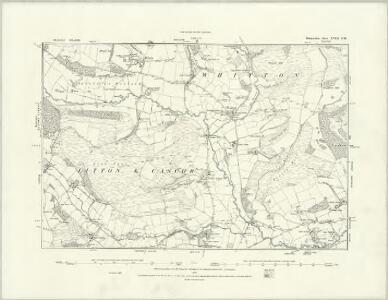 Radnorshire XVII.NE - OS Six-Inch Map