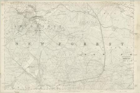 Hampshire & Isle of Wight LXXII - OS Six-Inch Map