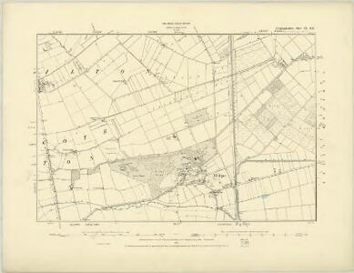 Huntingdonshire IX.NW - OS Six-Inch Map