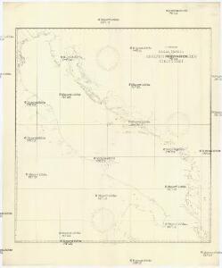 Skelettkarte des Adriatischen-Meeres für Kursskizzen