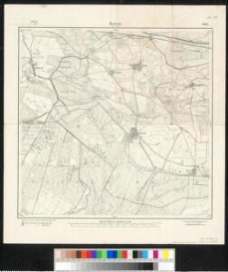 Meßtischblatt 1969 : Karow bei Genthin, 1912