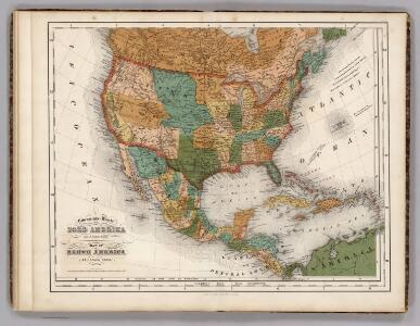 United States, Mexico, Central America, Caribbean.