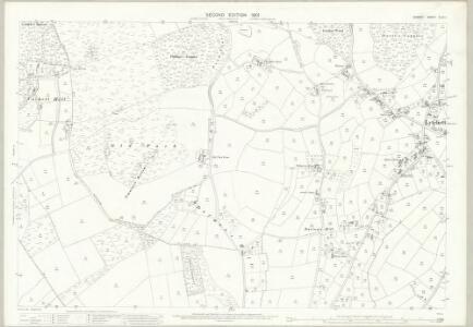 Dorset XLIII.1 (includes: Lytchett Matravers; Morden) - 25 Inch Map