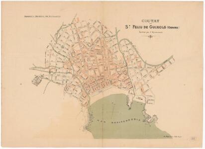 Ciutat de St. Feliu de Guixols (Gerona ) : facilitat per l'Ajuntament
