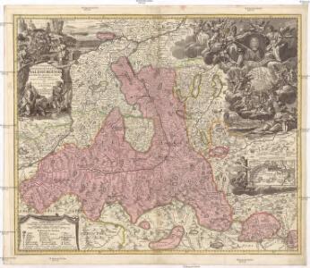 S. R. I. principatvs et archiepiscopatus Salisburgensis cum subjectis, insertis, ac finitimis regionibus