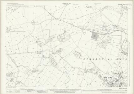 Derbyshire LI.5 (includes: Dale Abbey; Ilkeston; Stanton By Dale) - 25 Inch Map