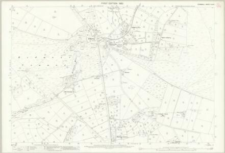 Cornwall XXIX.6 (includes: Callington; South Hill; Stoke Climsland) - 25 Inch Map