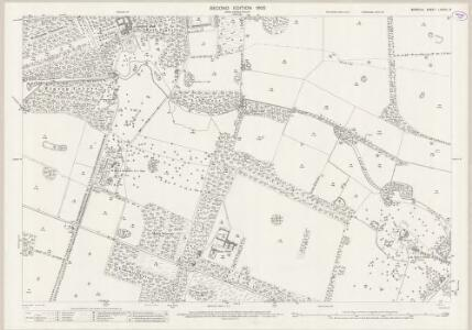 Norfolk LXXXIII.14 (includes: Lynford; Stanford) - 25 Inch Map