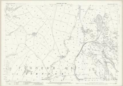 Lancashire XVI.5 (includes: Dalton In Furness; Pennington) - 25 Inch Map