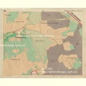 Fuchsberg - c4136-3-003 - Kaiserpflichtexemplar der Landkarten des stabilen Katasters