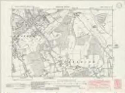 Surrey XX.NE - OS Six-Inch Map