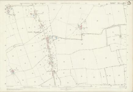 Huntingdonshire XXIV.8 (includes: Great Staughton; Little Staughton) - 25 Inch Map